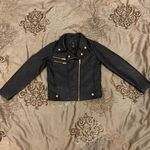 Girls 11/12 Forever 21 Faux Leather Jacket